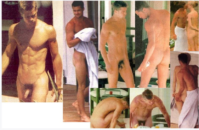 Pictures of brad pitt naked